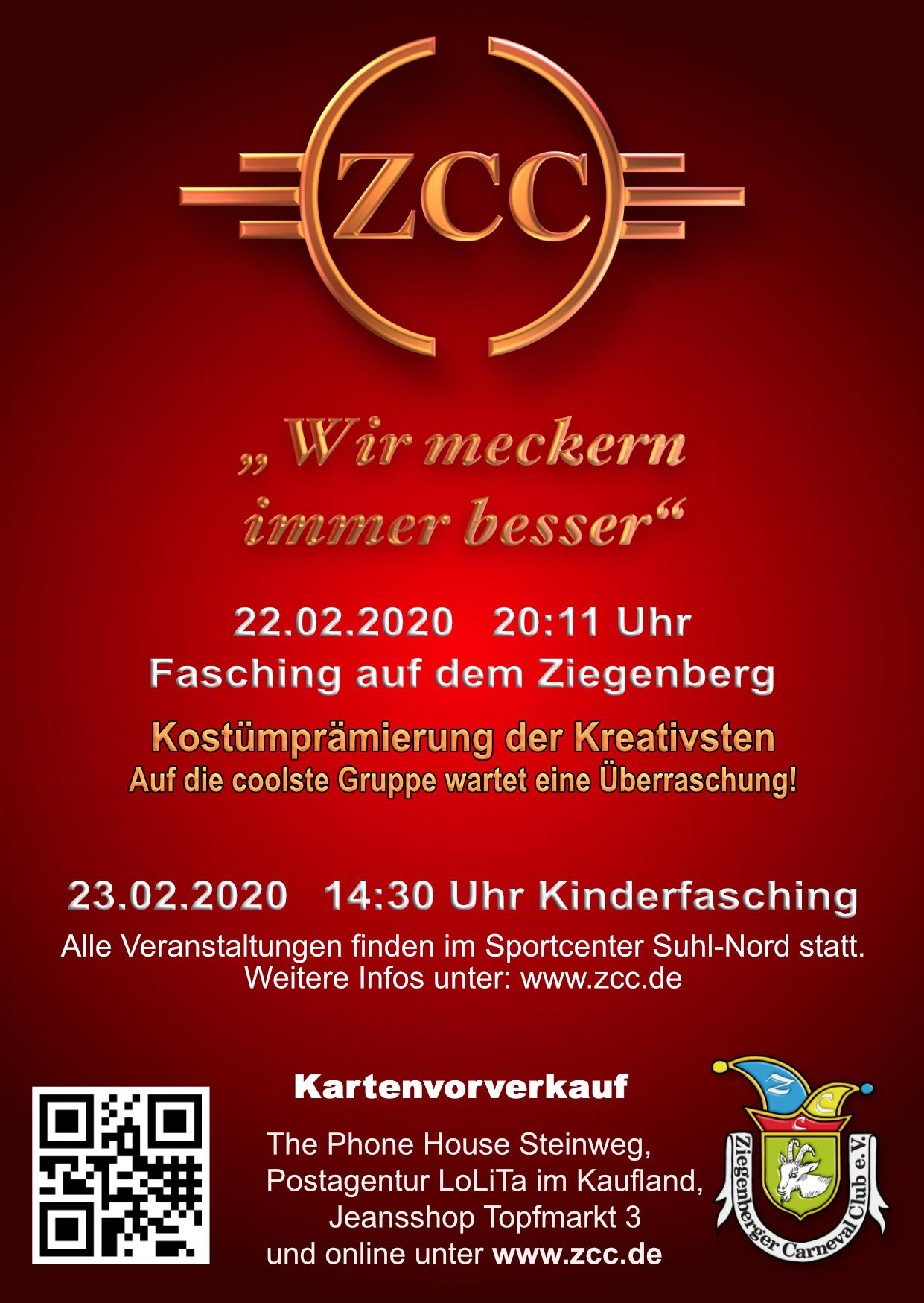 ZCC Flyer Februar 2020
